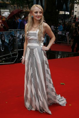 Evanna Lynch - World Premiere of 'Harry Potter And The Halfblood Prince', London, 07/07/2009