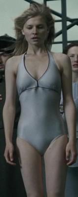 Фотография Флёр в купальнике с соревнования