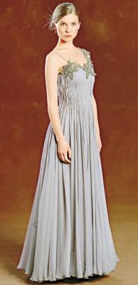 Флёр в платье с бала