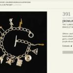 Браслет с символикой Гарри Поттера будет выставлен на аукцион